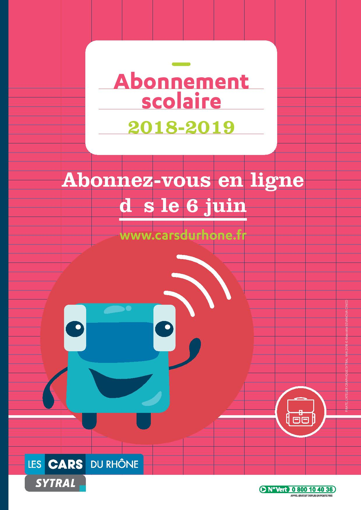SYTRAL AFFICHE 2018